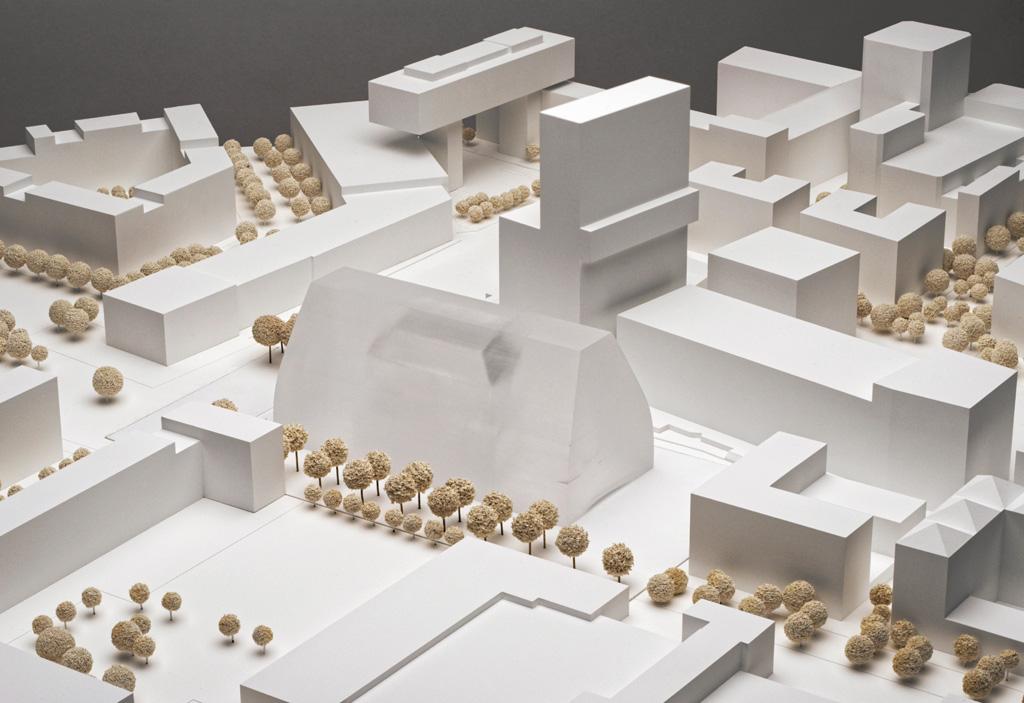 Lageplan Modell Konzerthaus München