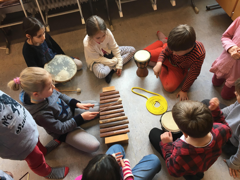 Musikvermittlungs-Workshop der Hochschule für Musik und Theater