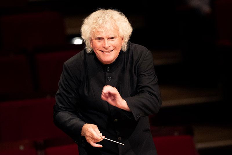 Simon Rattle neuer Chefdirigent